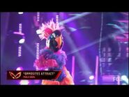 """Exotic Bird Dances To """"Opposites Attract"""" By Paula Abdul - Masked Dancer - S1 E6"""