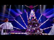 """Tree sings """"Think"""" by Aretha Franklin - THE MASKED SINGER - SEASON 2"""