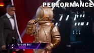 "Astronaut sings ""Bye Bye Bye"" by *NSYNC THE MASKED SINGER SEASON 3"