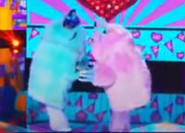 TMS - Monster and Missy kiss-ish