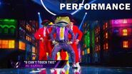"""Frog sings """"U Can't Touch This"""" by MC Hammer THE MASKED SINGER SEASON 3"""
