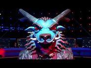 Masked Singer Season 4 Dragon Performs Mama Said Knock You Out Remix Sing-Along Lyrics