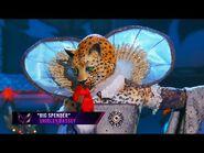 "Leopard sings ""Big Spender"" by Shirley Bassey - THE MASKED SINGER - SEASON 2"