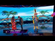 """Pineapple sings """"I Will Survive"""" - THE MASKED SINGER - SEASON 1"""