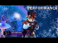 """Fox sings """"This Christmas"""" by Donny Hathaway - THE MASKED SINGER - SEASON 2"""