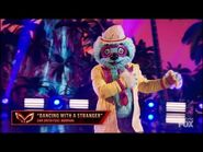 """Sloth Dances To """"Dancing With A Stranger"""" By Sam Smith - Masked Dancer - S1 E7"""