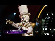 """Skeleton sings """"Hard To Handle"""" by Otis Redding - THE MASKED SINGER - SEASON 2"""