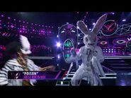 """Rabbit sings """"Poison"""" Bell Biv DeVoe - THE MASKED SINGER - SEASON 1"""