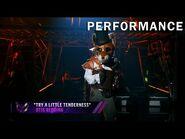 """Fox sings """"Try A Little Tenderness"""" by Otis Redding - THE MASKED SINGER - SEASON 2"""