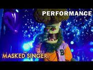 "Broccoli sings ""Take Me Down"" by Alabama - THE MASKED SINGER - SEASON 4"