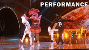"T-Rex sings ""Push It"" by Salt-n-Pepa THE MASKED SINGER SEASON 3"