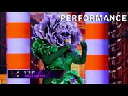 """Flower sings """"9 to 5"""" by Dolly Parton - THE MASKED SINGER - SEASON 2"""
