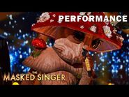 """Mushroom sings """"A Song for You"""" by Donny Hathaway - THE MASKED SINGER - SEASON 4"""