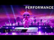 """Flamingo sings """"Go Your Own Way"""" by Fleetwood Mac - THE MASKED SINGER - SEASON 2"""