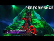 """Ladybug sings """"Holding Out For A Hero"""" by Bonnie Tyler - THE MASKED SINGER - SEASON 2"""