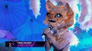 """Kitty sings """"True Colors"""" by Cyndi Lauper THE MASKED SINGER SEASON 3"""
