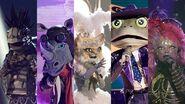 5 Masked Singers