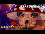 """Mushroom sings """"Unconditionally"""" by Katy Perry - THE MASKED SINGER - SEASON 4"""