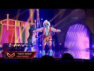"Sloth Dances To ""Twist Remix"" By Neeraj Shridhar - Masked Dancer - S1 E6"