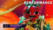 """Taco sings """"Can't Help Myself"""" by The Four Tops THE MASKED SINGER SEASON 3"""