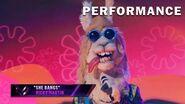 "Llama sings ""She Bangs"" by Ricky Martin THE MASKED SINGER SEASON 3"