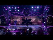 """Raven sings """"Brave"""" by Sara Bareilles - THE MASKED SINGER - SEASON 1"""