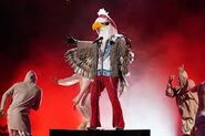 Eagle 1st and last preformance