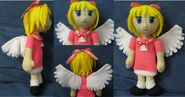 Angel plushie