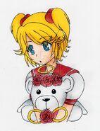 Angel as an anime charector