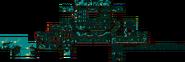 Forlorn Temple 8-Bit Overworld Map
