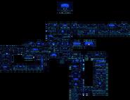 Sunken Shrine 16-Bit Overworld Map