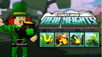 Miners Haven Black Friday Roblox Category St Patrick S Day 2020 The Miner S Haven Wikia Fandom