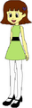 Sarah Spacebot as Buttercup