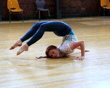 Giselle hugging a floor.jpg