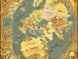 Map of the Lands and People of the 9th Age