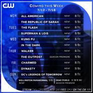 CW Week Promo