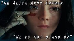 """The Alita Army Theme - """"We Do Not Stand By"""""""