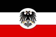 Flag of the Vereinigheit Republiken (des) Mars - Original (No Chrysanthemum)
