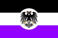 Flag of the Vereinigheit Republiken (des) Mars - Alternative (No Chrysanthemum)