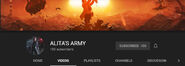 Alita's Army YouTube