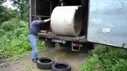How Not To Unload A Cement Tube