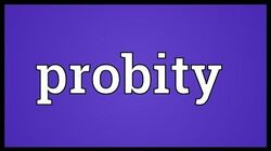 Probity_Meaning