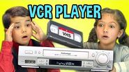 KIDS REACT TO VCR VHS