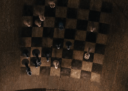 Illusory chess board