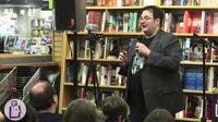 Brandon Sanderson introduces Firefight at University Book Store - Seattle
