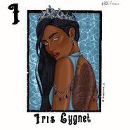 Iris Cygnet
