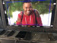 Behind The Scenes - Season Two - Amy Holden Jones Twitter - Happy Mina