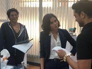 Behind The Scenes - Season Two - Amy Holden Jones Twitter - 2x03 Table Read (2)