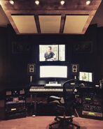 Behind The Scenes - Season Two - Jason Derlatka Instagram - Composing Studio (1)