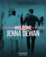 The Resident - Season Two - Welcome Jenna Dewan